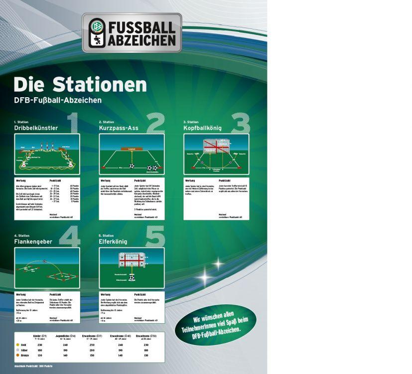 Dfb Fussballabzeichen Und Paule Schnupperabzeichen Am